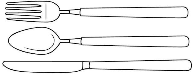 Pintar dibujos de cocina alimentos y utensilios - Dibujos para cocina ...