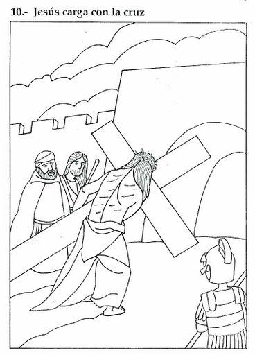 dibujos de semana santa para pintar