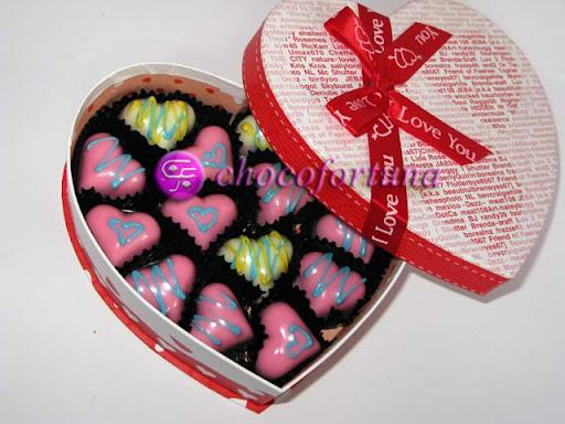 parcel coklat love