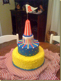 Alex's 4th bday cake