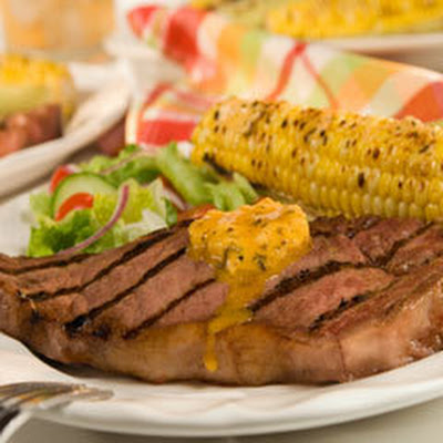 New Orleans Grilled Steak With Cajun Spread