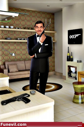 Foto foto lucu mr Bean