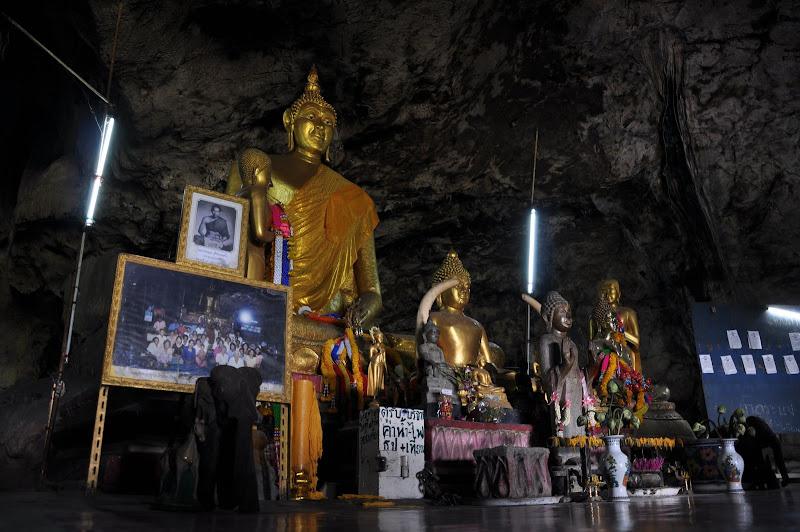 Храм в скале на реке Квай