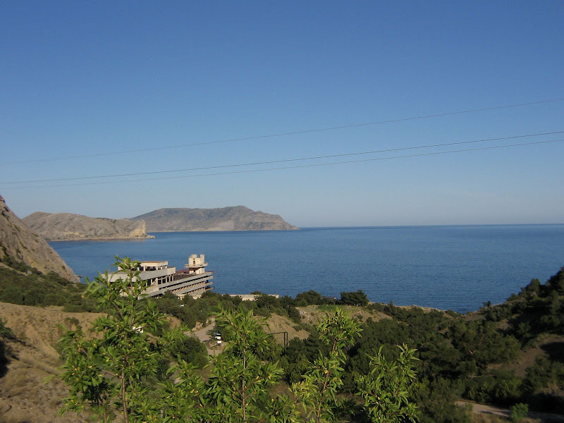Крым, смотровая площадка по дороге к Новому Свету