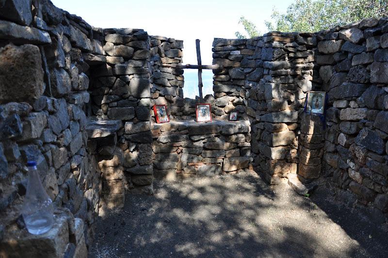 Руины древнего Храма, гора Аю-Даг, Партенит