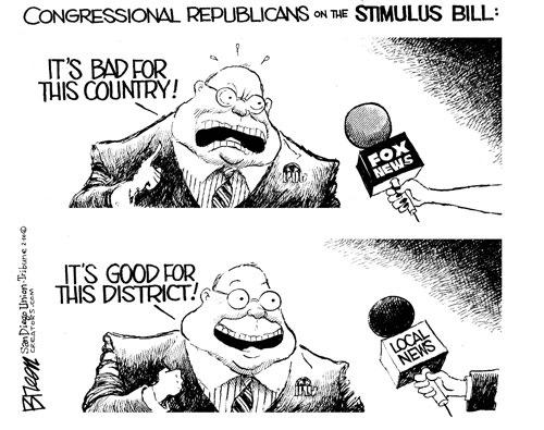 Stimulus-Hypocrisy