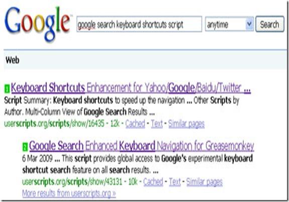 google-keyboard-shortcuts-script
