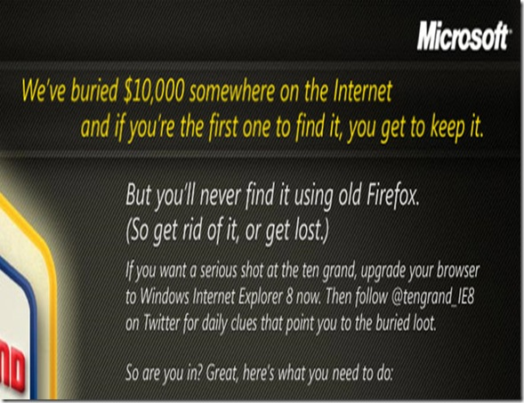 treasure hunt-firefox