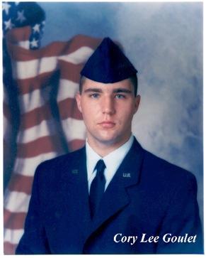Airman Cory Goulet