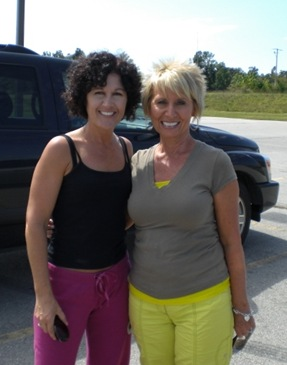 Becky Mullins and me 2 083009