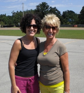 Becky Mullins and me 083009
