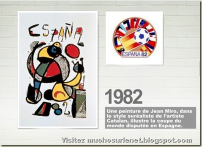 Affiche Espagne 1982
