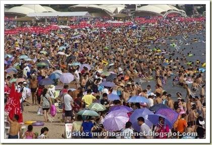Une plage en Chine-7