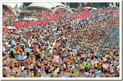 Une plage en Chine-8