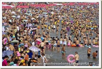 Une plage en Chine-10
