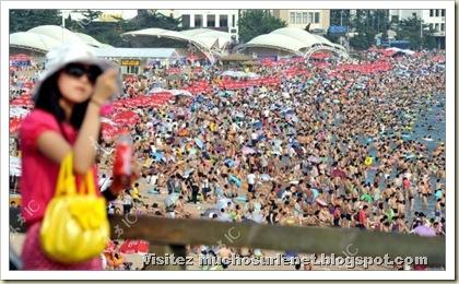 Une plage en Chine-13