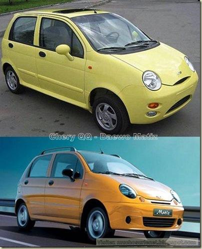 Les constructeurs automobiles chinois préfèrent copier-1
