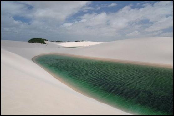 Le désert blanc brésilien