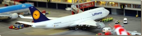 Maquette de l'aéroport de Knuffingen sur 1tourdhorizon.com