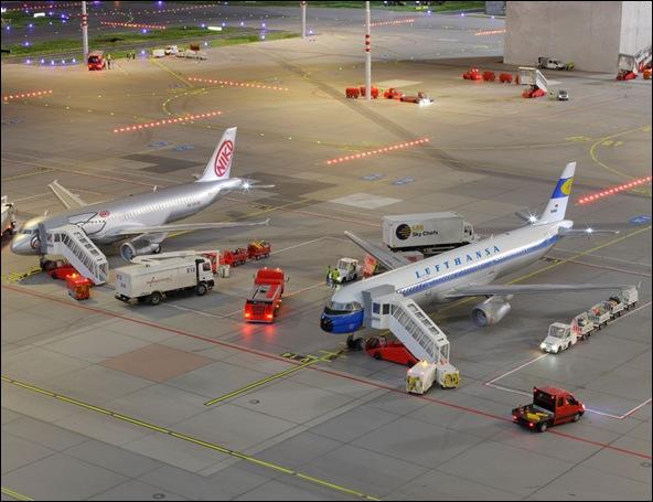 Maquette de l'aéroport de Knuffingen sur 1tourdhorizon.com-19