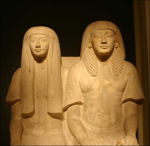 Maya et sa femme Meryt - Musée de Leyde