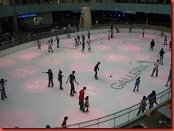 in winkelcentrum ijsbaan