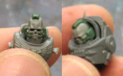 Terminator skull helmet conversion