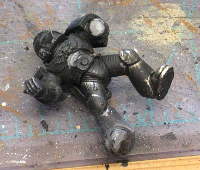 Fromthewarp Blogspot Com   Painting Black Armour Learning How Html
