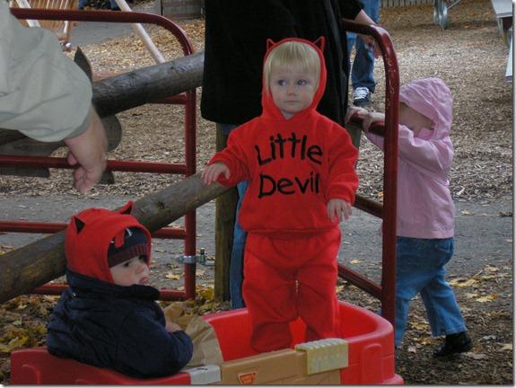 Stormy little devil