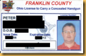 CCW License0001