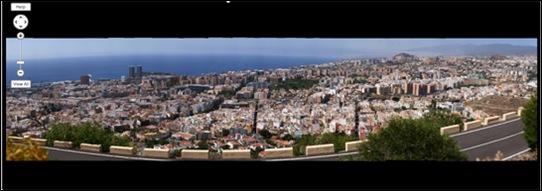 Santa Cruz de Tenerife vista con Gigapan