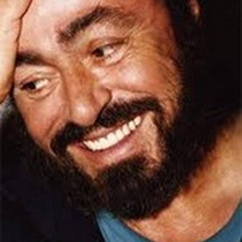 Luciano Pavaroti (antes y después)