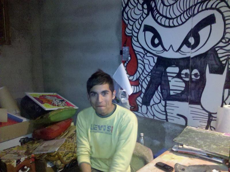 El artista en su taller