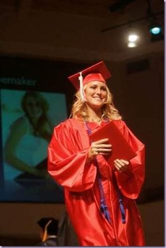 Dawn & her diploma