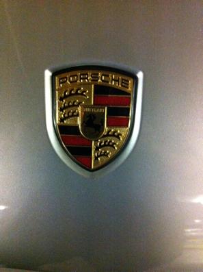 Porsche at car park