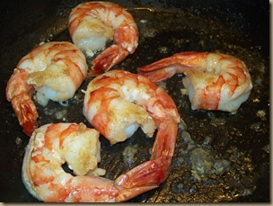Sauteed Black Tiger Shrimp