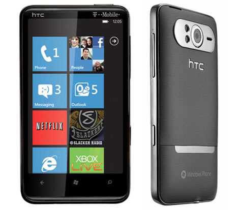 HTC HD7 WP7 T-Mobile USA