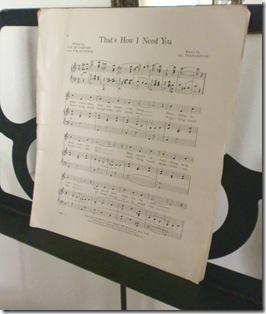 MusicStand w-Sheet