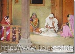 Sai Baba Painting-7