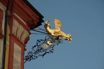 bruchsal schloss dragon_1827