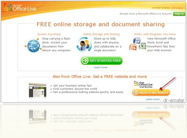 BNTK Microsoft Office Live Small Business