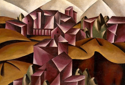 Popova: Birsk Landscape; source .fabulousmasterpieces.co.uk