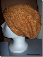 Long Beanie orange