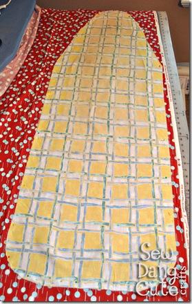 Pin-pattern-to-fabric