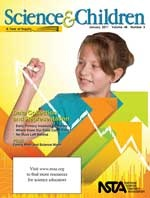 Cover of January 2011 NSTA journal, Science and Children