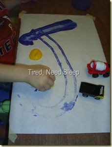 color mixing with cars and paint (2)