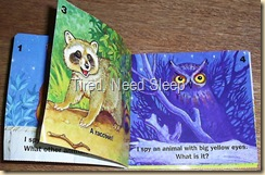 mini book i spy animals