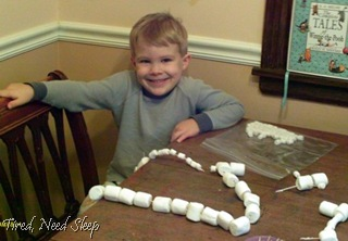 marshmallow building