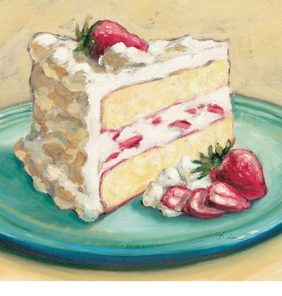 Strawberry-Cake-Posters
