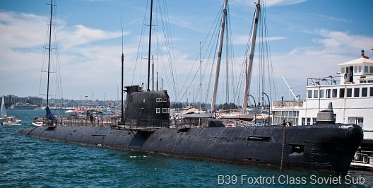 © Bob Baillargeon - Foxtrot Class Soviet Sub 70s